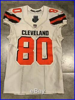 Jarvis Landry Game Used Worn Cleveland Browns Jersey Phot Matched