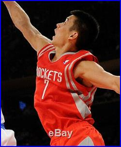 Jeremy Lin 2013 Game Used Jersey + 2013 All-Star Worn Pants Rockets Photo Match