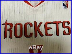 Jeremy Lin Game used Rockets Jersey 2013/2014season
