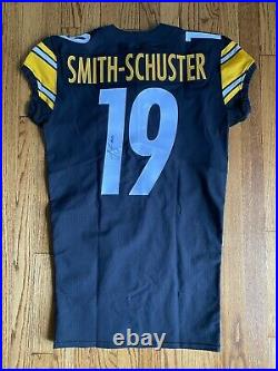 JuJu Smith Schuster NOT Game Used Worn Pittsburgh Steelers Team Issued Jersey