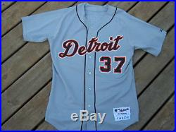 Kenny Rogers Detroit Tigers Game Used Jersey 2006