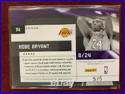 Kobe Bryant 2009 Panini Limited Game Used 3 Color Patch 5/5 eBay 1/1