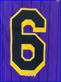 Lakers Lance Stephenson Team Issued Pro Cut Jersey Game Worn Lore Series Size 46
