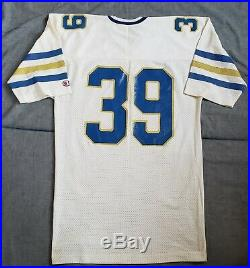 Larry Moriarty Notre Dame Fighting Irish Football Game Used Champion Jersey