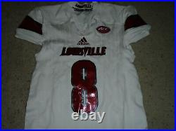 Louisville Cardinals Lamar Jackson Authentic Game Signed Jersey