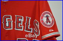Majestic Los Angeles Angels Anaheim Bat Boy 2010 All Star Game Used Jersey 48 XL