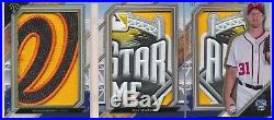 Max Scherzer 1/1 All Star Game Used Jersey Patch Relic Book Nationals 2017 TT