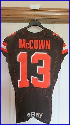 McCown Cleveland Browns Game Used Issued Jersey, also Odell Beckham Jr's number