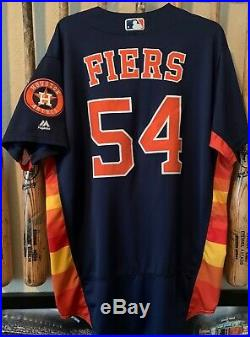 Mike Fiers 2016 Houston Astros Game Used Worn Jersey Rat Snitch Scandal History