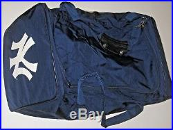 NEW YORK YANKEES 1990's Player Issued Game Used Equipment Travel Bag