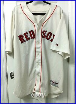 Original Manny Ramirez Game used worn 2004 Red Sox home jersey Great wear