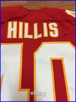 Peyton Hillis Kansas City Chiefs Game Used Worn Jersey Cleveland Browns RB #40