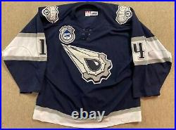 RAFFI TORRES GAME WORN USED EDMONTON OILERS ALTERNATE JERSEY With 25TH PATCH LOA