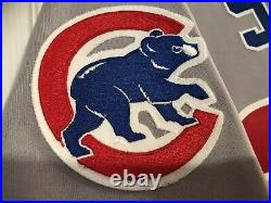 RARE Sammy Sosa Game Used Chicago Cubs Road Baseball Jersey