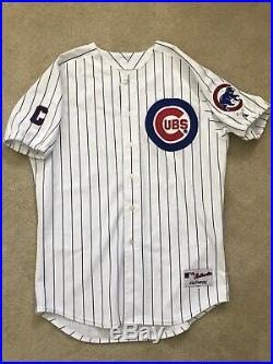 RARE Sammy Sosa Game Used Jersey Chicago Cubs 2000 Autographed Signed LOA