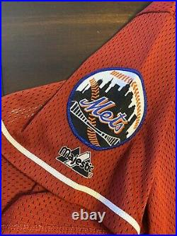 Rare Vintage Majestic 2001 MLB All Star Game New York Mets Mike Piazza Jersey