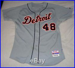 Rick Porcello 2009 Game Used Worn Rookie Detriot Tigers Jersey Mlb Loa Gu10