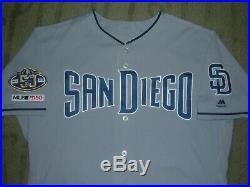 San Diego Padres Alex Dickerson Game Used Worn 2019 Jersey With Patches (giants)