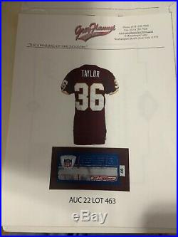 Sean Taylor Game Used Jersey Rookie Year #36