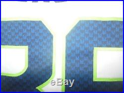 Seattle Seahawks 2015 Game Used NFL Football Jersey