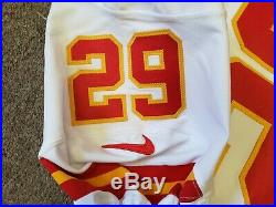 September 7, 2017 Game Used Eric Berry #29 Jersey KC Chiefs vs. NE Patriots