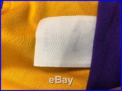 Shaq Shaquille O'Neal Signed Game Used Los Angeles Lakers Basketball Jersey PSA