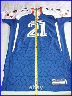 Size 54 Reebok 2010 NFL Pro Bowl #21 Antrel Rolle Game Issued Jersey Signed