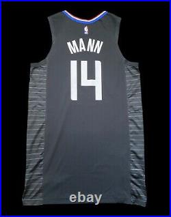 Terance Mann Clippers Game Worn Used Jersey ROOKIE Season Nba Champion Lakers