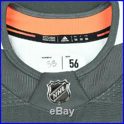 VGK #38 Tomas Hyka 2018 Stanley Cup Final Game 1 Worn/Used Practice Jersey