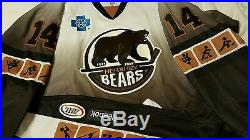 Watkins 2013-14 Hershey Bears Olympic AHL Authentic Game-Used Jersey Size 56